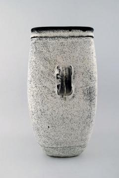 K hler K hler Denmark glazed large stoneware vase with handles - 1217489