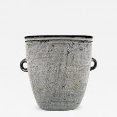 K hler K hler Denmark glazed large stoneware vase with handles - 1218656