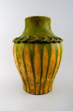 K hler K hler Denmark glazed stoneware vase 1920s - 1217417