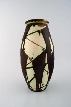 K hler K hler Denmark glazed stoneware vase in modern design - 1217397