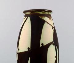K hler K hler Denmark glazed stoneware vase in modern design - 1217398