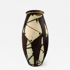 K hler K hler Denmark glazed stoneware vase in modern design - 1218645