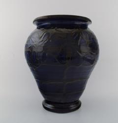 K hler K hler Denmark glazed stoneware vase in modern design - 1217409