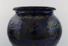 K hler K hler Denmark glazed stoneware vase in modern design - 1217410