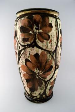 K hler K hler Denmark huge glazed stoneware floor vase in modern design - 1217518