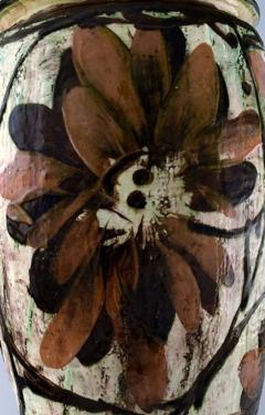 K hler K hler Denmark huge glazed stoneware floor vase in modern design - 1217519