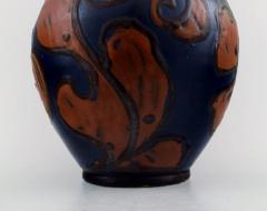 K hler K hler Denmark large glazed stoneware vase in modern design - 1217424