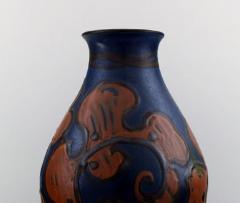 K hler K hler Denmark large glazed stoneware vase in modern design - 1217425