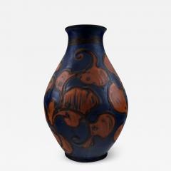 K hler K hler Denmark large glazed stoneware vase in modern design - 1218649