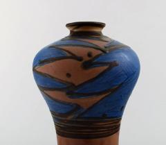 K hler K hler HAK glazed stoneware vase in modern design - 1213738