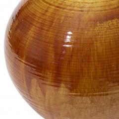K hler Monumental Table Lamp in Flowing Golden Glaze by Kahler Keramik - 1931920