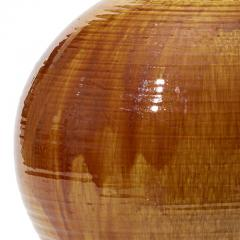 K hler Monumental Table Lamp in Flowing Golden Glaze by Kahler Keramik - 1931922