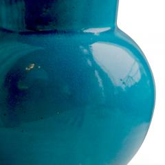 K hler Table lamp in rich turquoise by K hler - 1041826