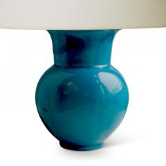 K hler Table lamp in rich turquoise by K hler - 1041828