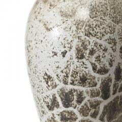K hler Table lamp with elegant vase form and toasted marshmallow glaze by K hler - 1050106