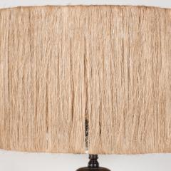 K ramos Keramos Ceramic lamp with twine shade - 1467354