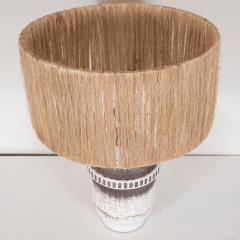 K ramos Keramos Ceramic lamp with twine shade - 1467355