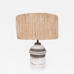 K ramos Keramos Ceramic lamp with twine shade - 1467411