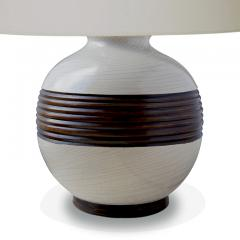 K ramos Table lamp with graphic relief band by Keramos - 978501