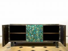 KAM TIN Sideboard in turquoise cabochon by KAM TIN - 971411