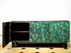 KAM TIN Sideboard in turquoise cabochon by KAM TIN - 971412