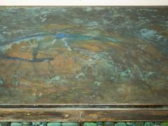 KAM TIN Sideboard in turquoise cabochon by KAM TIN - 971419