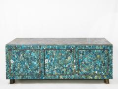 KAM TIN Turquoise and labradorite sideboard by KAM TIN - 973547