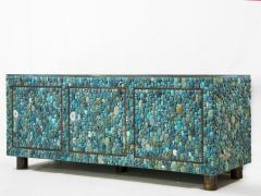 KAM TIN Turquoise and labradorite sideboard by KAM TIN - 973548