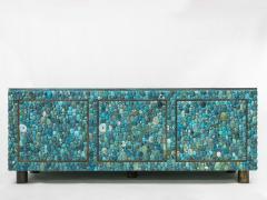 KAM TIN Turquoise and labradorite sideboard by KAM TIN - 973550