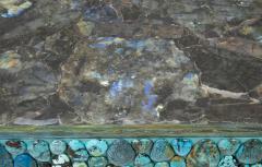 KAM TIN Turquoise and labradorite sideboard by KAM TIN - 973551