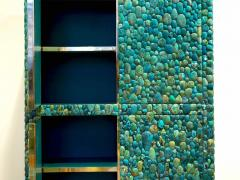 KAM TIN Unique turquoise Buffet Cabinet by KAM TIN - 971423