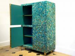 KAM TIN Unique turquoise Buffet Cabinet by KAM TIN - 971425