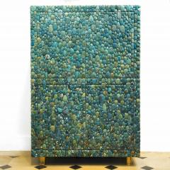 KAM TIN Unique turquoise Buffet Cabinet by KAM TIN - 971426