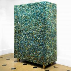 KAM TIN Unique turquoise Buffet Cabinet by KAM TIN - 971427