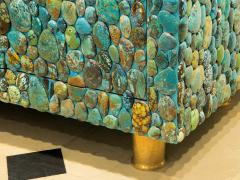 KAM TIN Unique turquoise Buffet Cabinet by KAM TIN - 971429