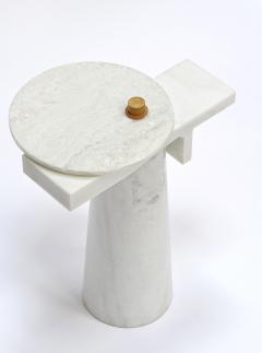 Kaaron Studio Sculptural Marble Gueridon Leopol Signed by Kaaron - 965515