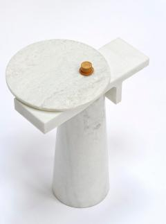 Kaaron Studio Sculptural Marble Gueridon Leopol Signed by Kaaron - 1653891
