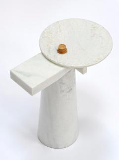 Kaaron Studio Sculptural Marble Gueridon Leopol Signed by Kaaron - 1653892