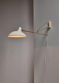 Kaiser Idell Kaiser Leuchten Kaiser Co Kaiser model 6777 Swiveling Wall Lamp Germany - 835189