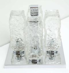 Kaiser Kaiser Ice Glass and Chrome Flush Mount 1 of 2 - 1703905