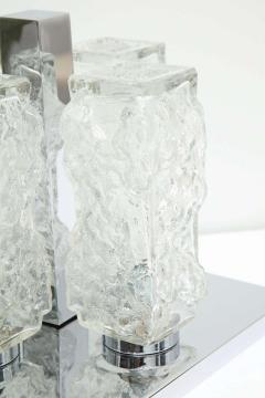 Kaiser Kaiser Ice Glass and Chrome Flush Mount 1 of 2 - 1703907