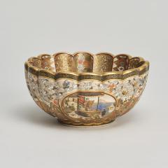 Kaizan A miniature Japanese Satsuma bowl - 1269563
