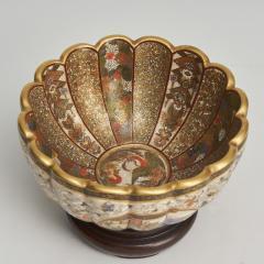 Kaizan A miniature Japanese Satsuma bowl - 1269564