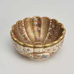 Kaizan A miniature Japanese Satsuma bowl - 1269565