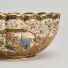 Kaizan A miniature Japanese Satsuma bowl - 1269570