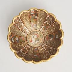 Kaizan A miniature Japanese Satsuma bowl - 1269572