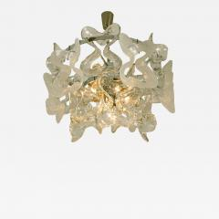 Kalmar Lighting Kalmar Catena Murano Glass Chrome Chandelier 1970s - 989628