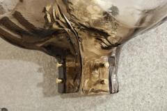 Kalmar Lighting Kalmar Clear Smoked Glass Sconces - 841961