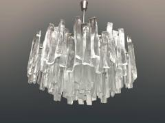 Kalmar Lighting Very Rare Large Tiered Glass Chandelier by J T Kalmar - 593615