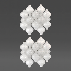 Kalmar Pair of Tulipan Glass Sconces J T Kalmar - 32292
